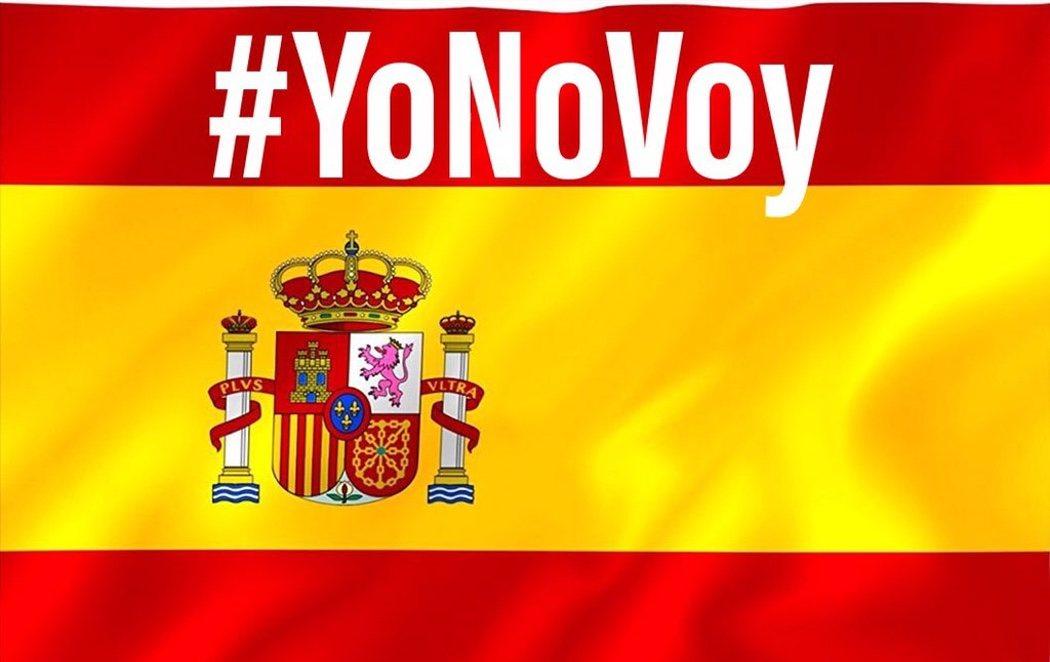#YoNoVoy: La respuesta tuitera a la manifestación convocada por la derecha