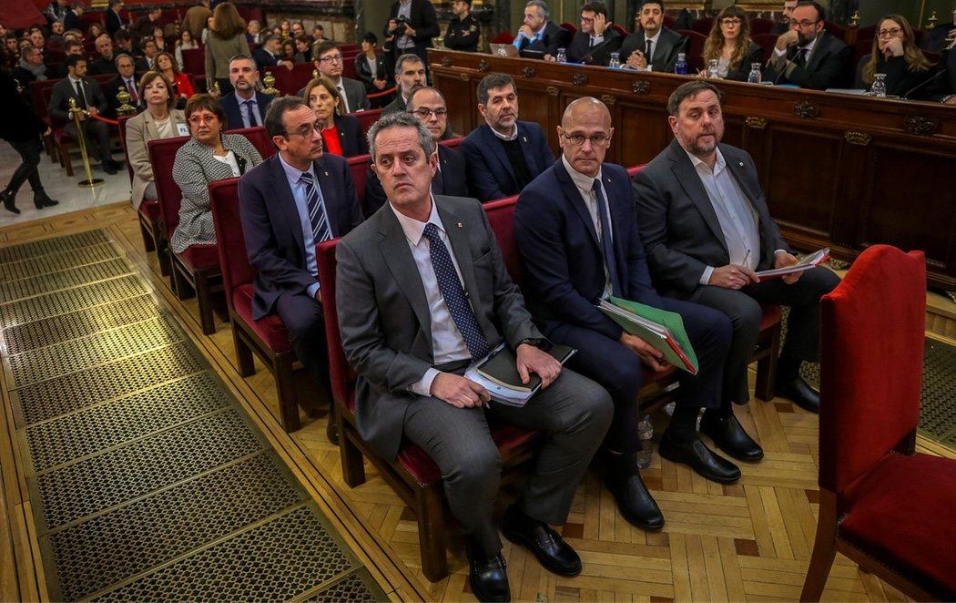 Arranca el juicio contra los líderes del procés