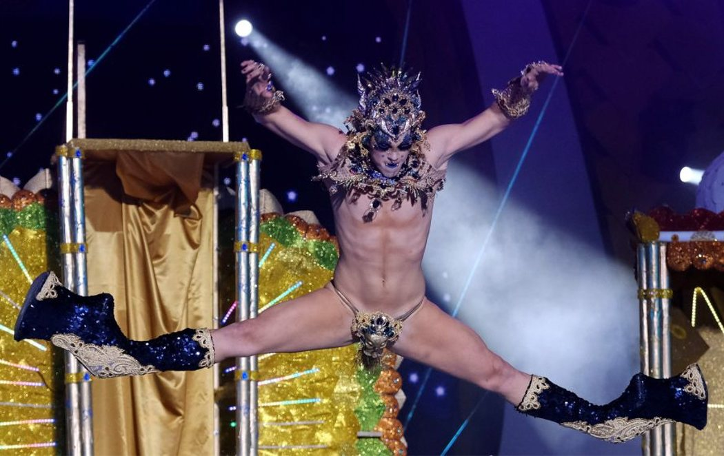 Drag Chuchi, coronada reinona del Carnaval de Las Palmas