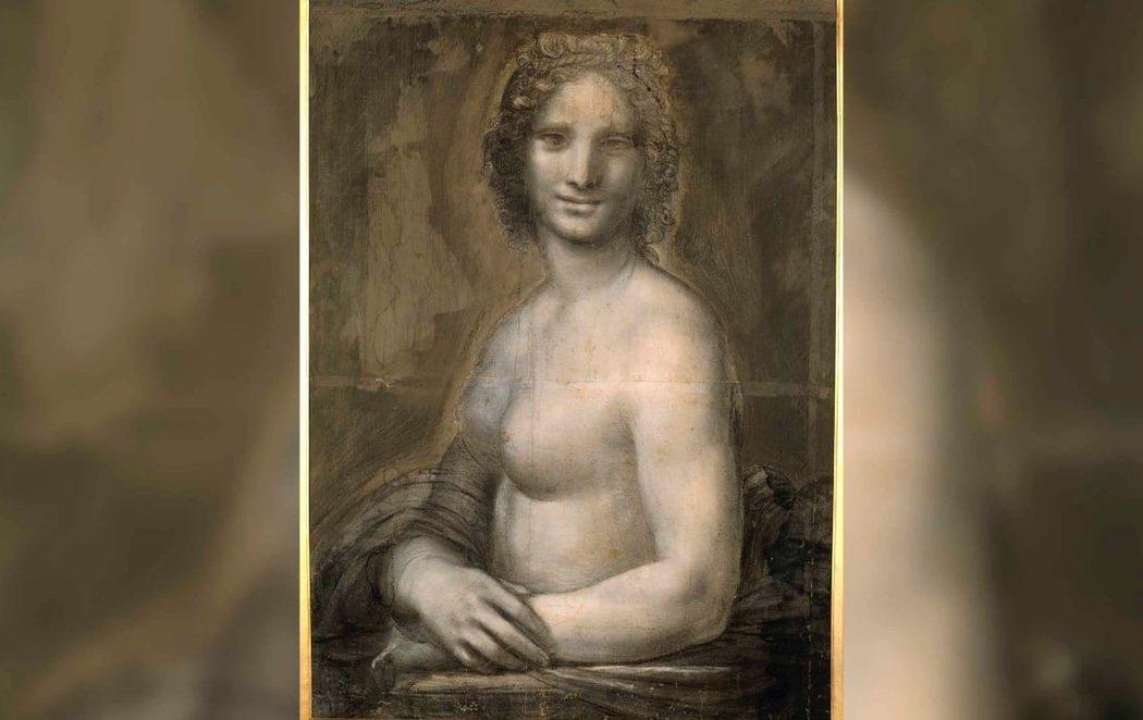 La 'Mona Lisa desnuda' podría ser de Leonardo da Vinci