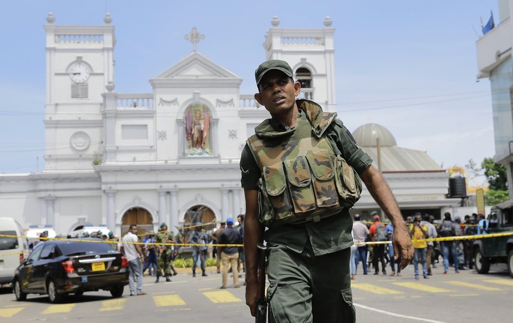 Al menos 207 muertos y 450 heridos en un total de 8 atentados contra iglesias y hoteles de Sri Lanka