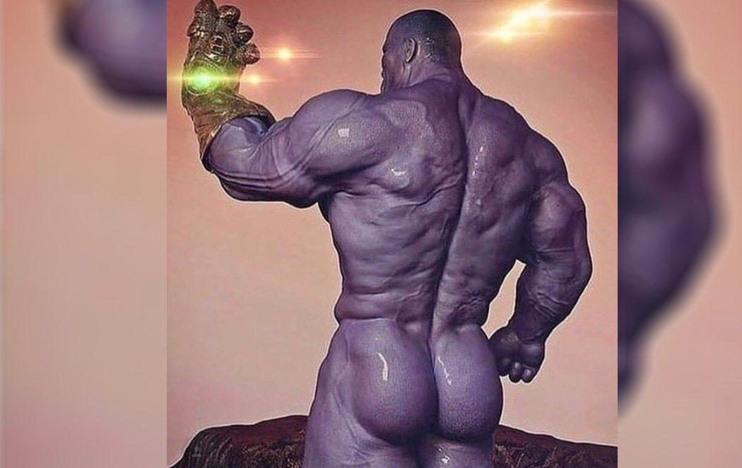 "Josh Brolin ('Vengadores: Endgame') enseña al mundo el ""melocotón morado"" de Thanos"