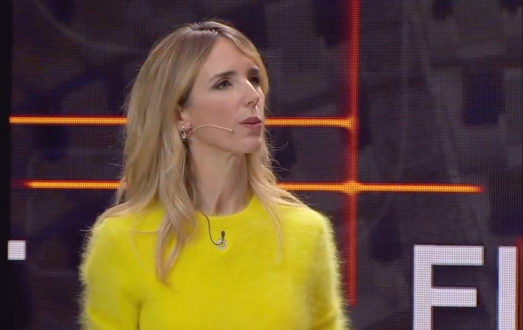 Cayetana Álvarez de Toledo se viste de amarillo para el debate en TV3