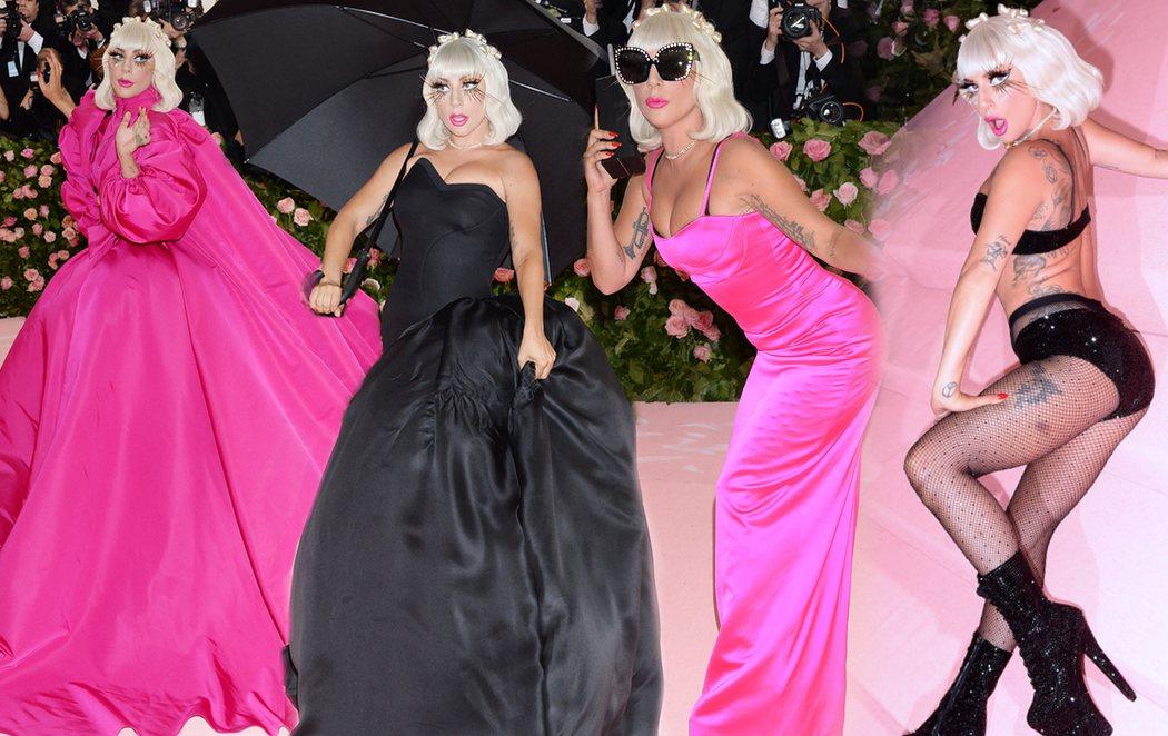 Lady Gaga, con sus cuatro vestidos en uno, protagonista de la Gala Met 2019