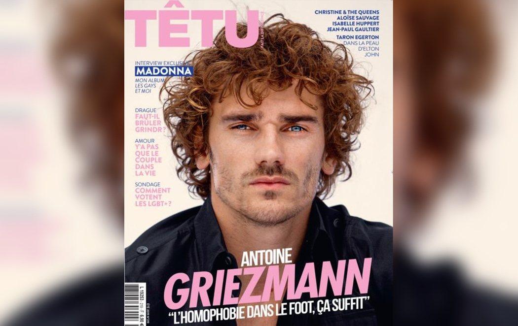 Griezmann carga nuevamente contra la homofobia en el fútbol en una entrevista