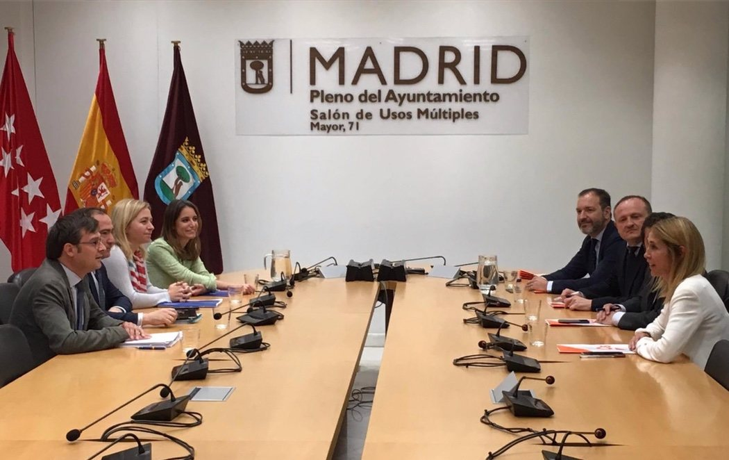 Begoña Villacís (C's) se ve con posibilidades de convertirse en alcaldesa de Madrid tras la reunión con el PP