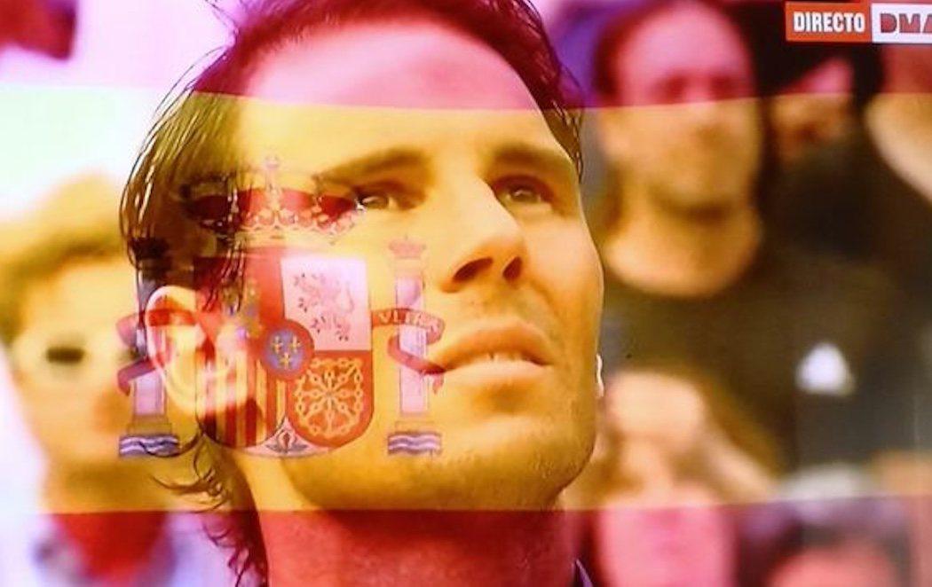 La lían con la versión del himno de España que ha sonado por la victoria de Rafa Nadal en Roland Garrós