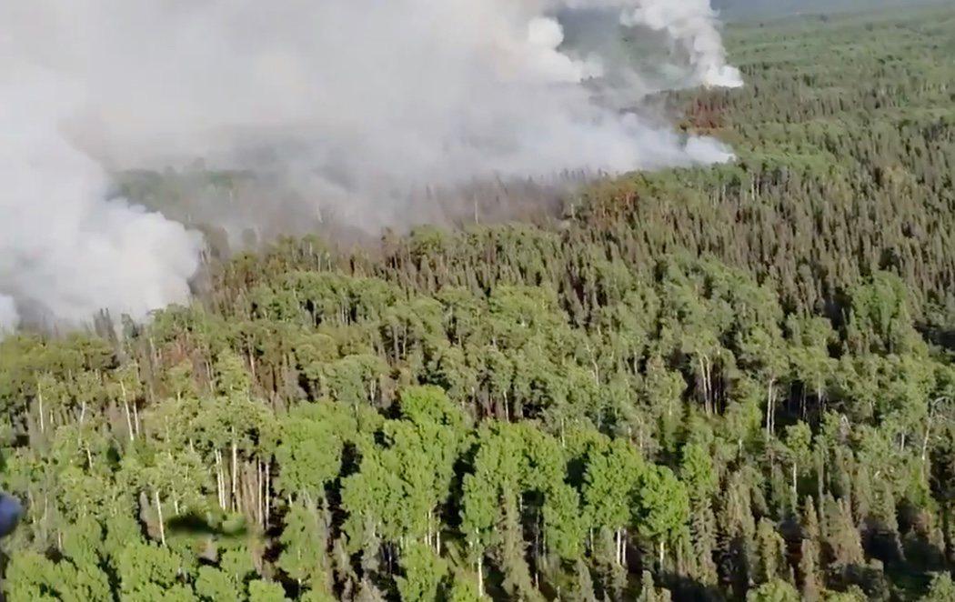 Alaska bate récords en su ola de calor y sufre incendios forestales sin precedentes