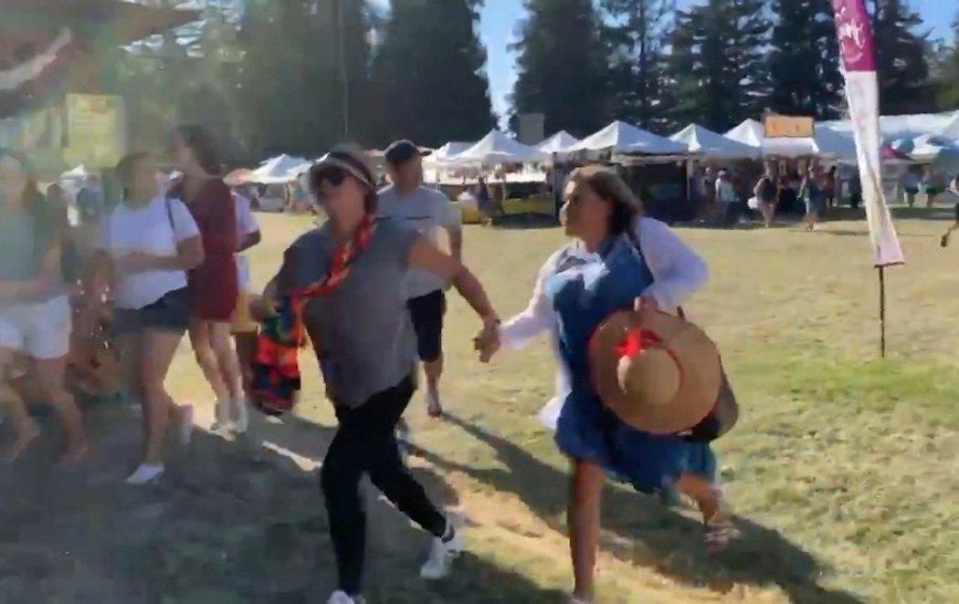 Un tiroteo en un festival de comida en California termina con tres muertos y ocho heridos