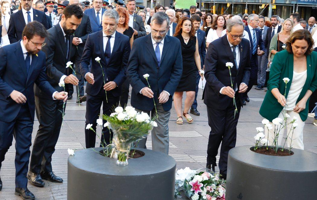 Dos años del atentado de Barcelona: Silencio en recuerdo de las víctimas