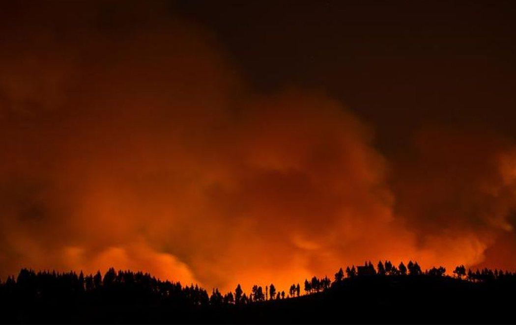 Pánico en Gran Canaria ante el tercer incendio en una semana