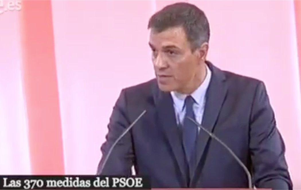 Pedro Sánchez presenta 370 medidas para tratar de formar Gobierno pactando con Unidas Podemos