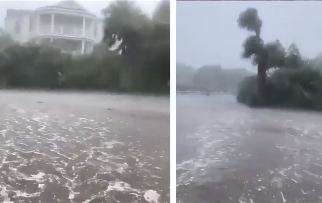 El huracán Dorian azota la costa sureste de Estados Unidos mientras aumenta de categoría