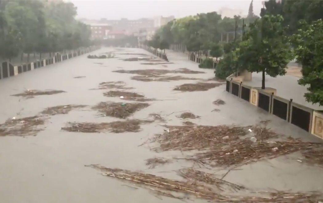 DANA: La gota fría deja cuatro muertos y el río Segura se desborda