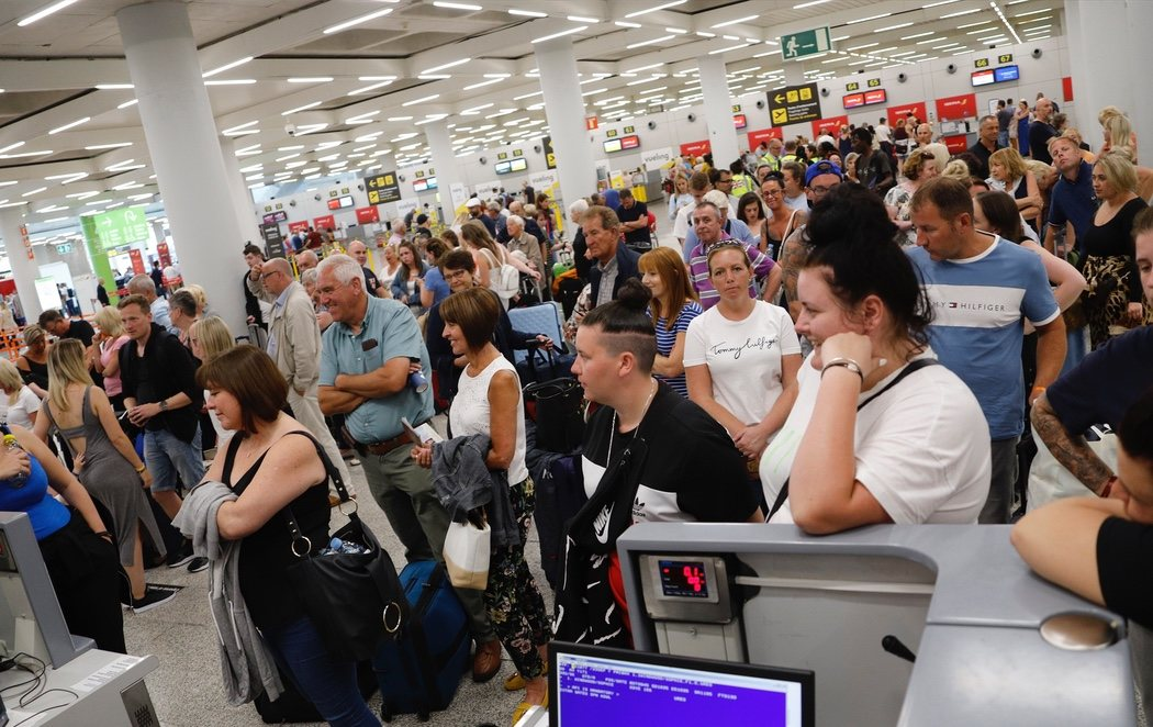 600.000 turistas afectados tras la quiebra del gigante de viajes Thomas Cook