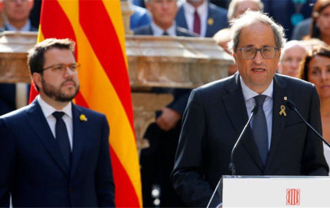 """Quim Torra se compromete a avanzar """"sin excusas"""" hacia la """"república catalana"""""""