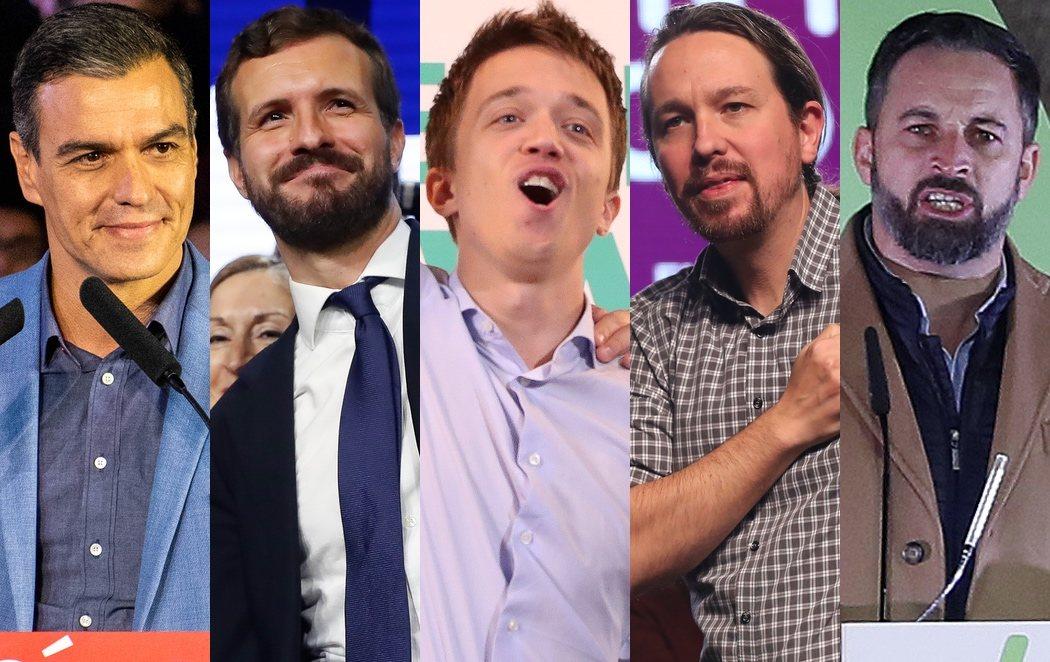 Los candidatos exprimen el fin de la campaña electoral para pedir el voto