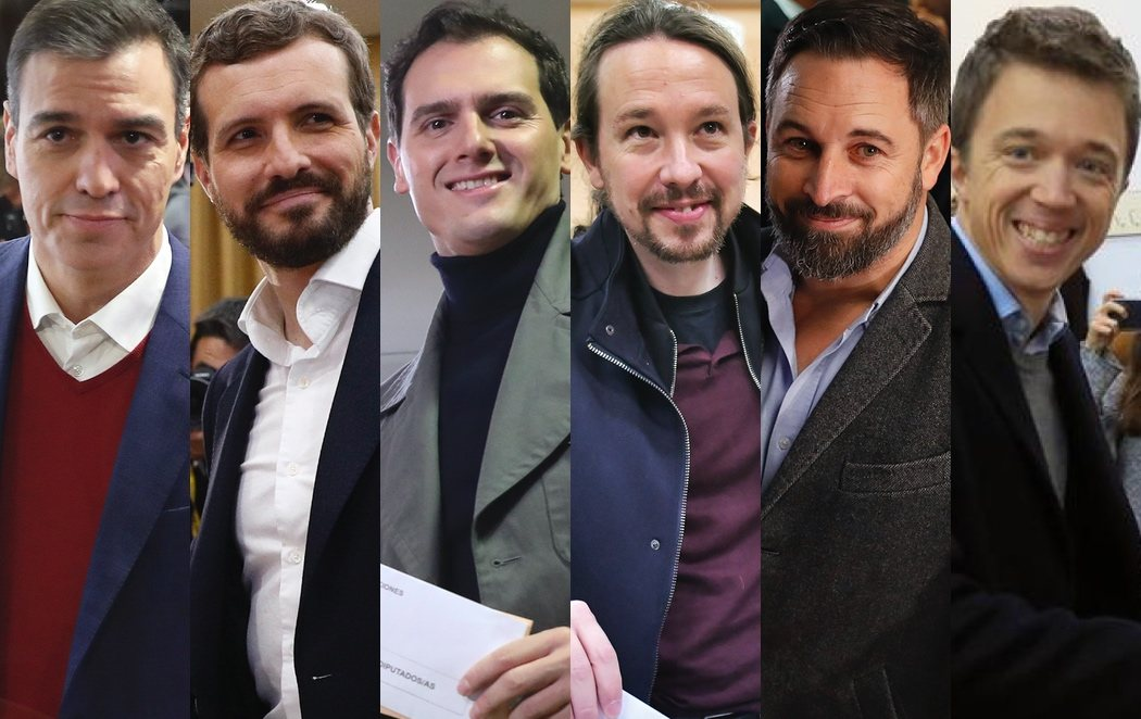 Así han votado los candidatos de los principales partidos