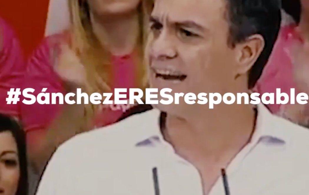 El PP culpa a Sánchez, que se enfrentó al PSOE andaluz en las primarias, del Caso ERE