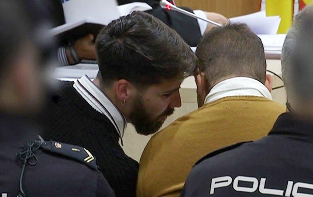 'La Manada', entre risas y cuchicheos en el juicio por el caso de Pozoblanco