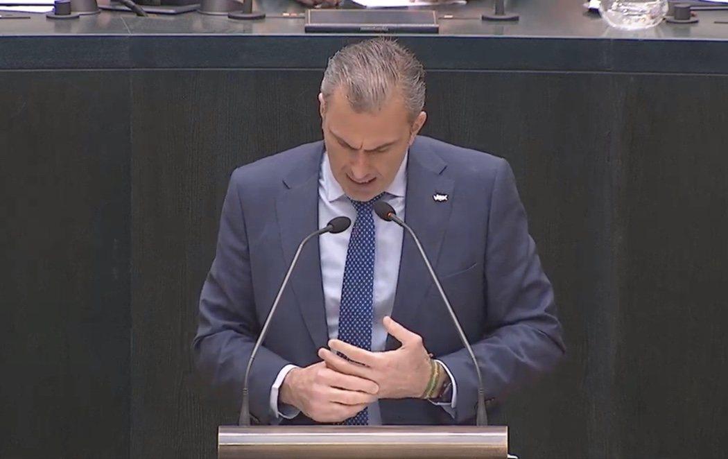 Ortega Smith, reprobado por el pleno con el apoyo de Cs y el voto en contra del PP