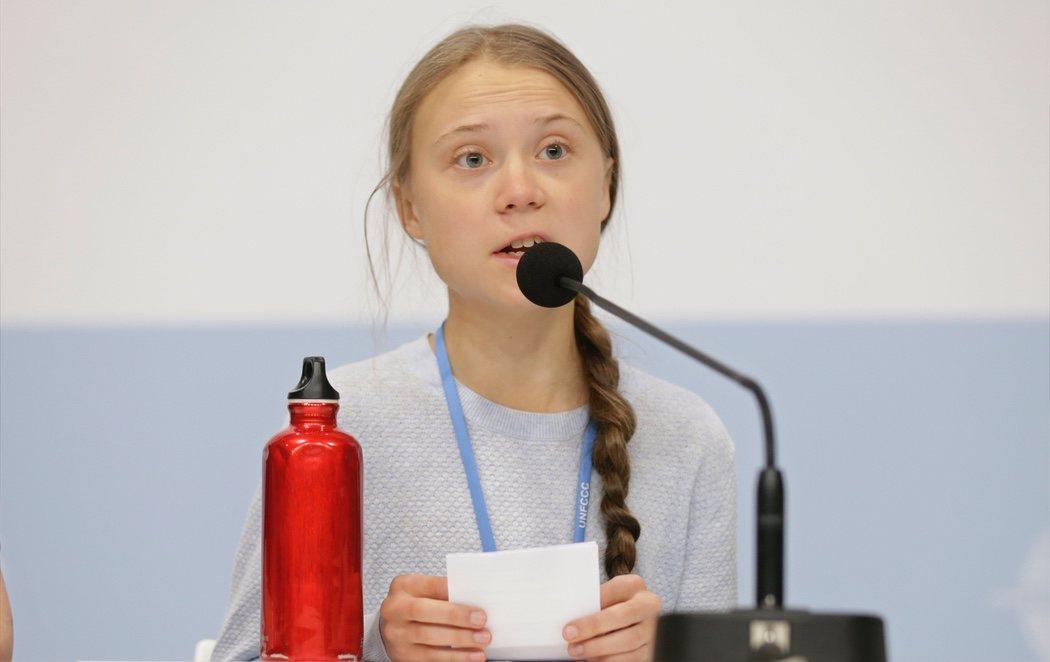"""Greta Thunberg se estrena en la Cumbre del Clima de Madrid: """"La gente está sufriendo"""""""