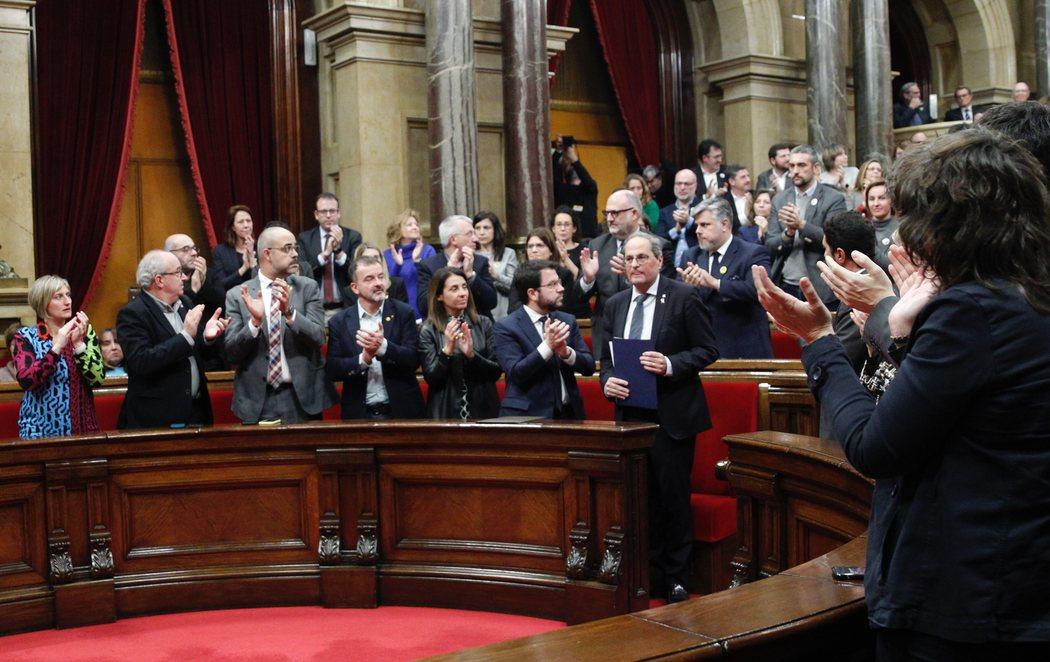 El Parlament de Cataluña rechaza la inhabilitación de Quim Torra