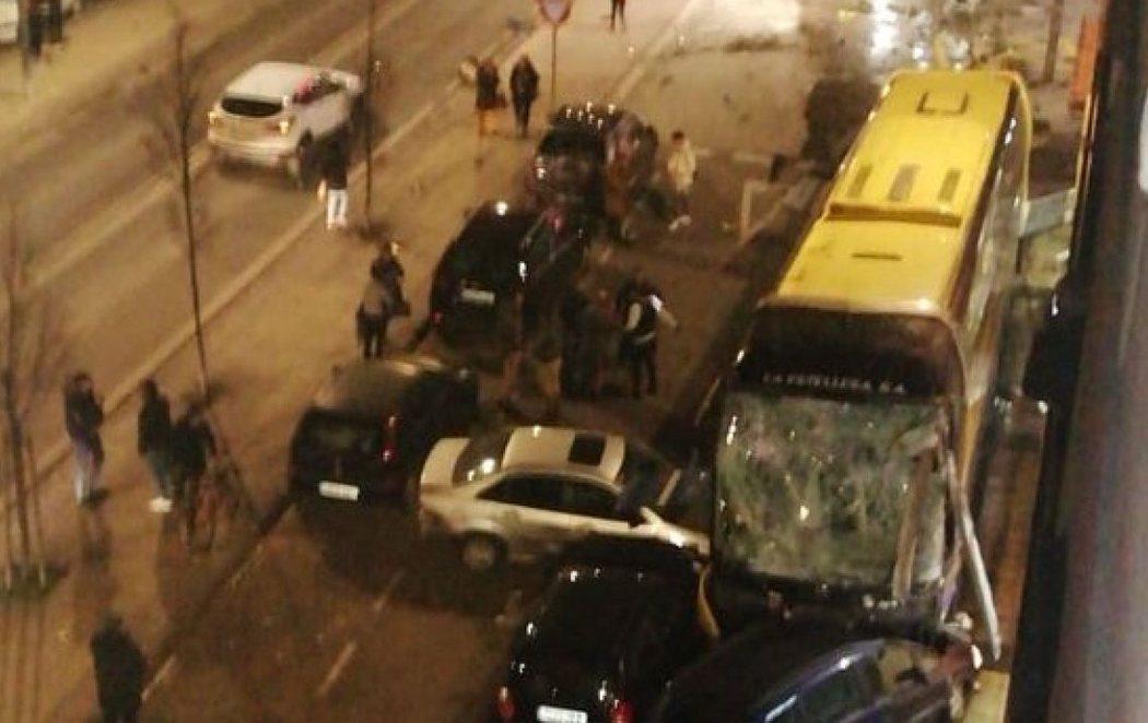Dos hermanos y de ocho y cinco años mueren por el autobús siniestrado en Estella (Navarra)