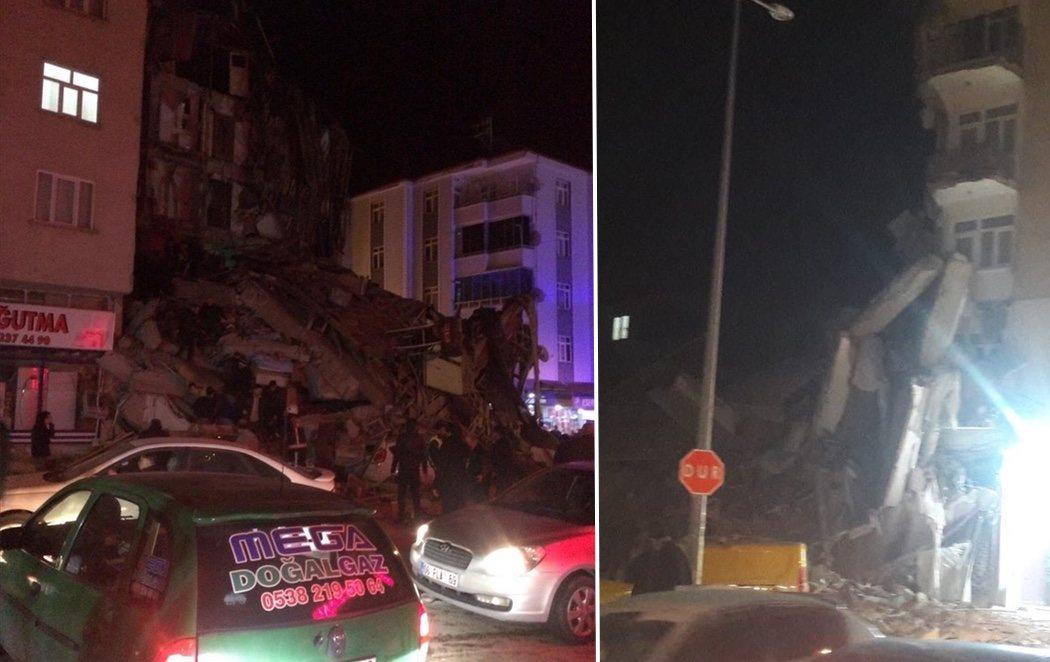 Al menos 22 muertos y mil heridos en un fuerte terremoto en Turquía