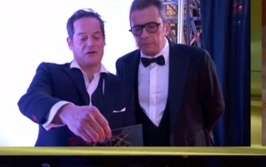 Jorge Sanz entrega un Goya tras su 'expulsión' de la gala en 2019