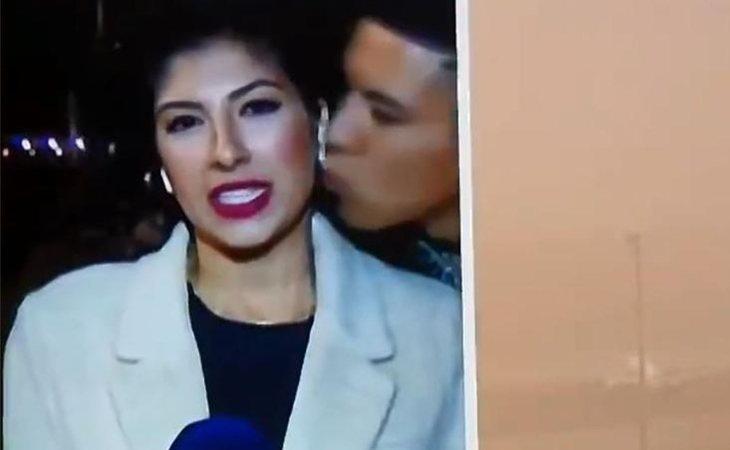Acoso machista a una reportera en pleno directo en la televisión canaria