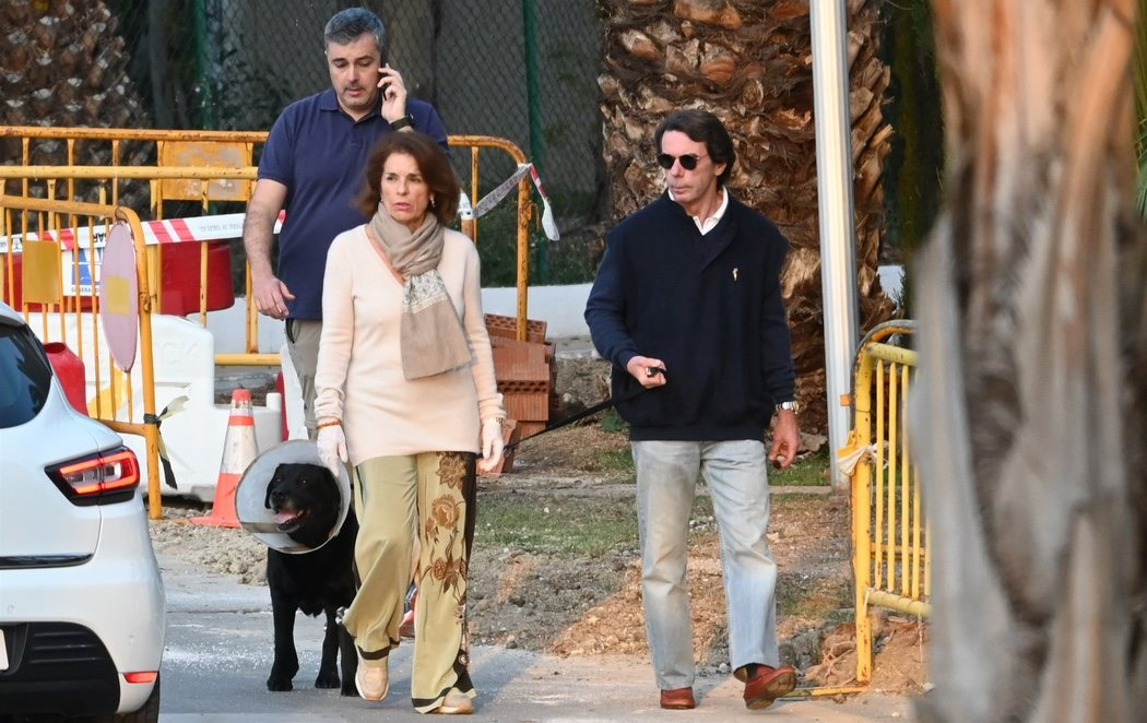 José María Aznar y Ana Botella 'huyen' a Marbella en plena crisis del coronavirus