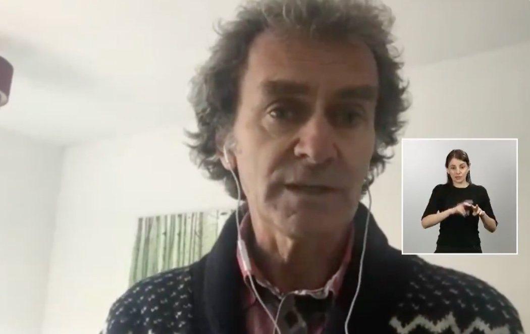 Fernando Simón reaparece en videoconferencia tras dar positivo en coronavirus