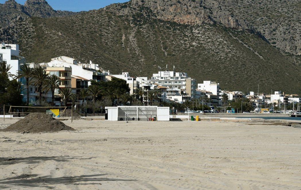 Las playas españolas, completamente vacías en plena Semana Santa