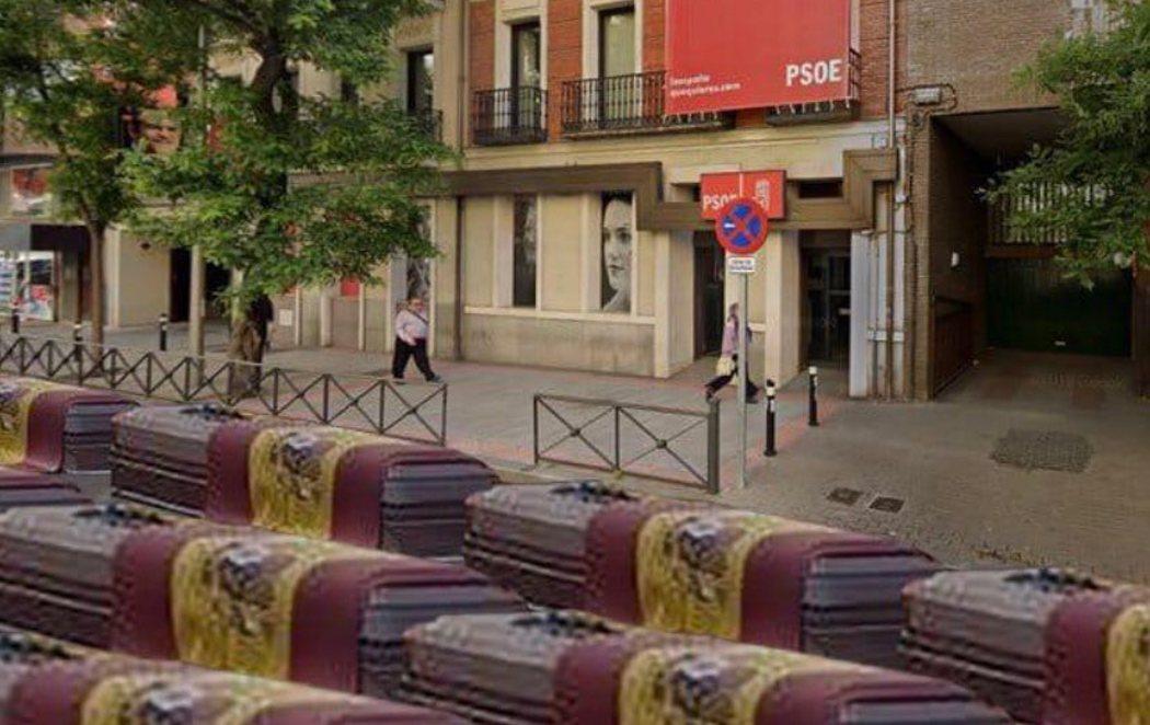 Hermann Tertsch, eurodiputado de VOX, pide llenar la sede del PSOE de ataúdes
