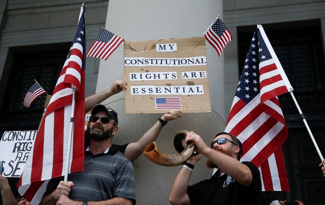 Se multiplican las protestas en EEUU exigiendo el fin del confinamiento