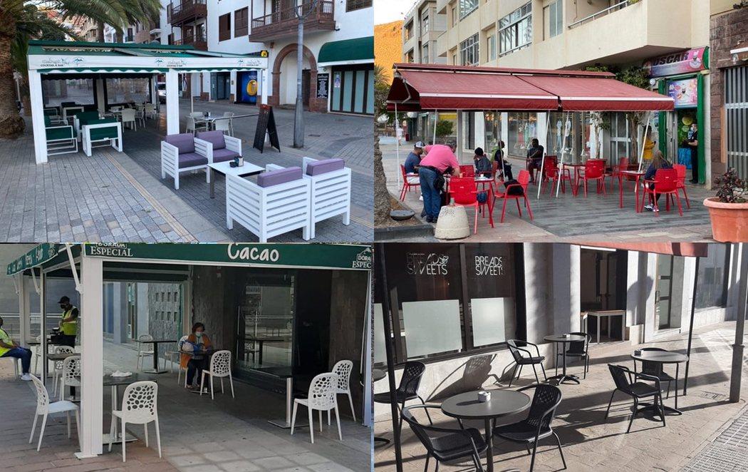 Apertura de comercios y terrazas: el arranque de la Fase 1 en algunas islas como La Gomera