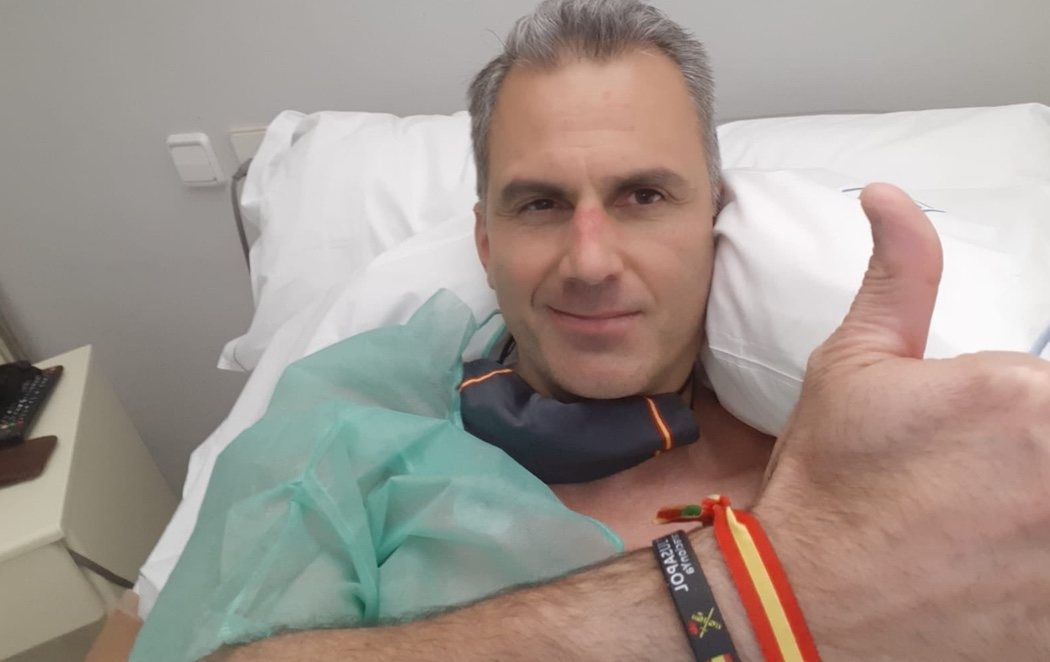 Ortega Smith (VOX), ingresado con varios trombos provocados por las secuelas del coronavirus