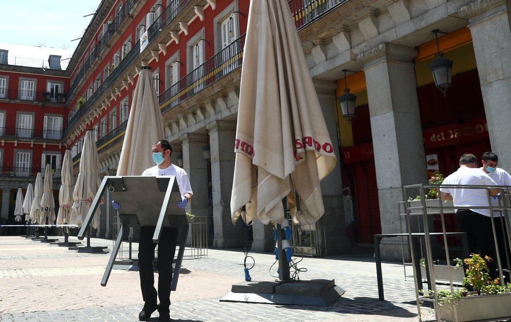 Madrid se prepara para la reapertura de sus terrazas y entrar en fase 1