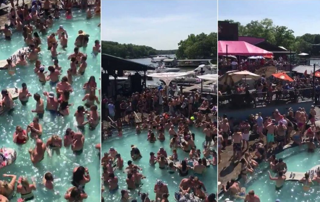 Indignación en EEUU por la celebración de una fiesta masiva a pesar de sumar 100.000 muertes