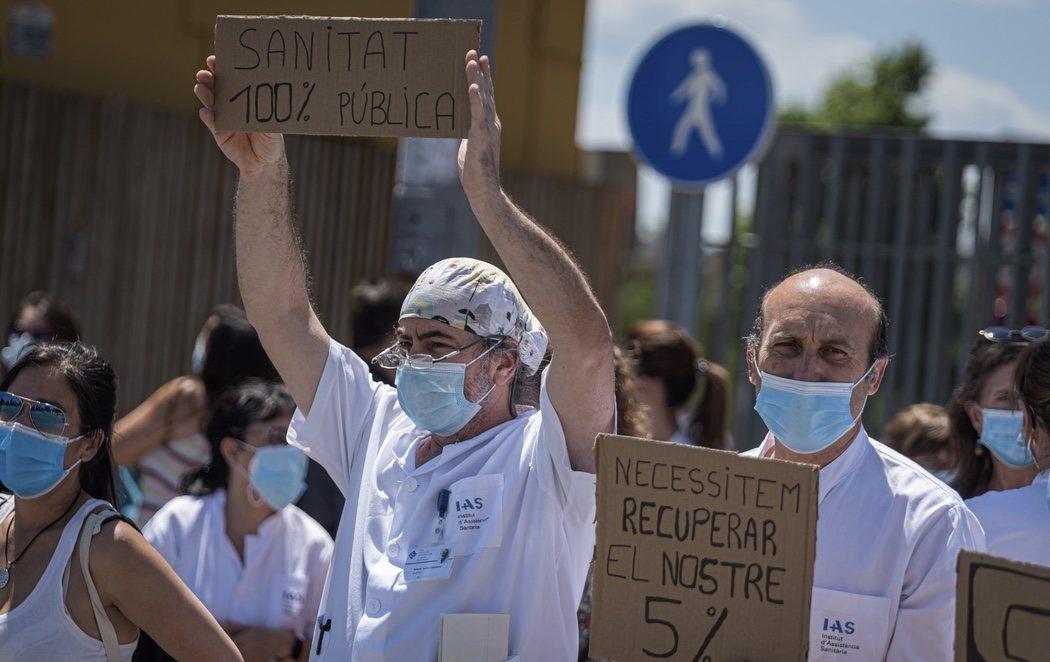 Los médicos se movilizan para salvar a la sanidad pública de los recortes que se avecinan