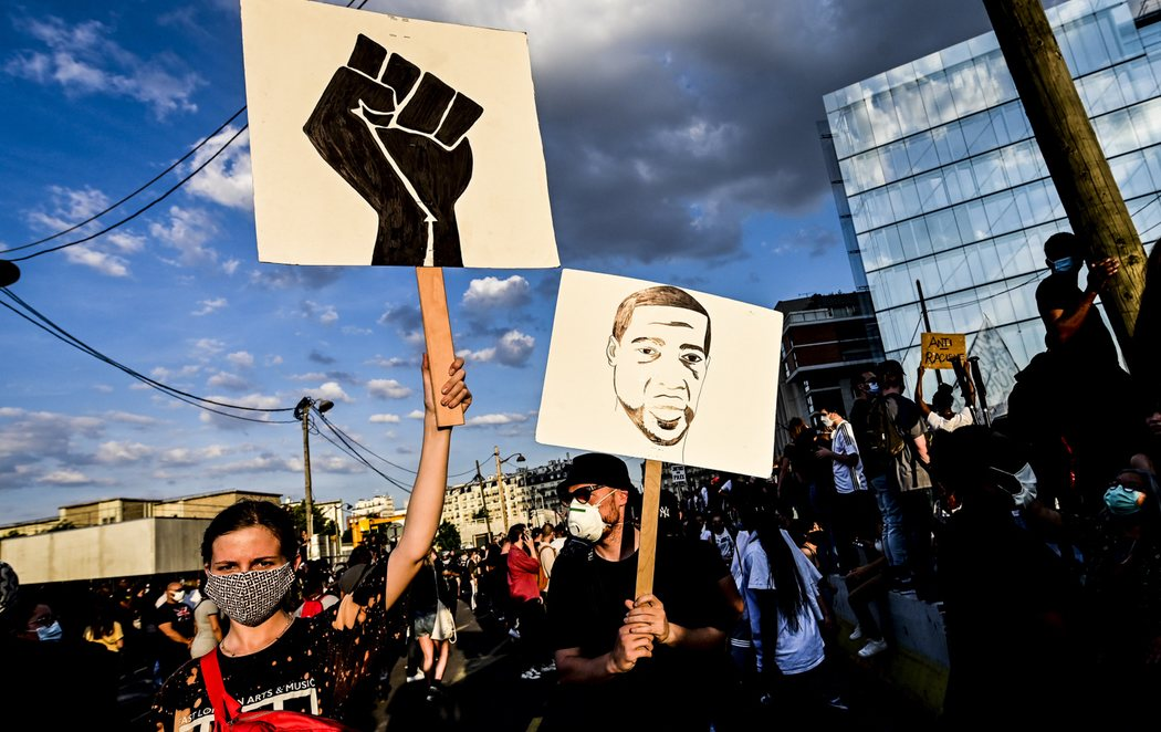 Las protestas antirracistas por la muerte de George Floyd se multiplican también en Europa