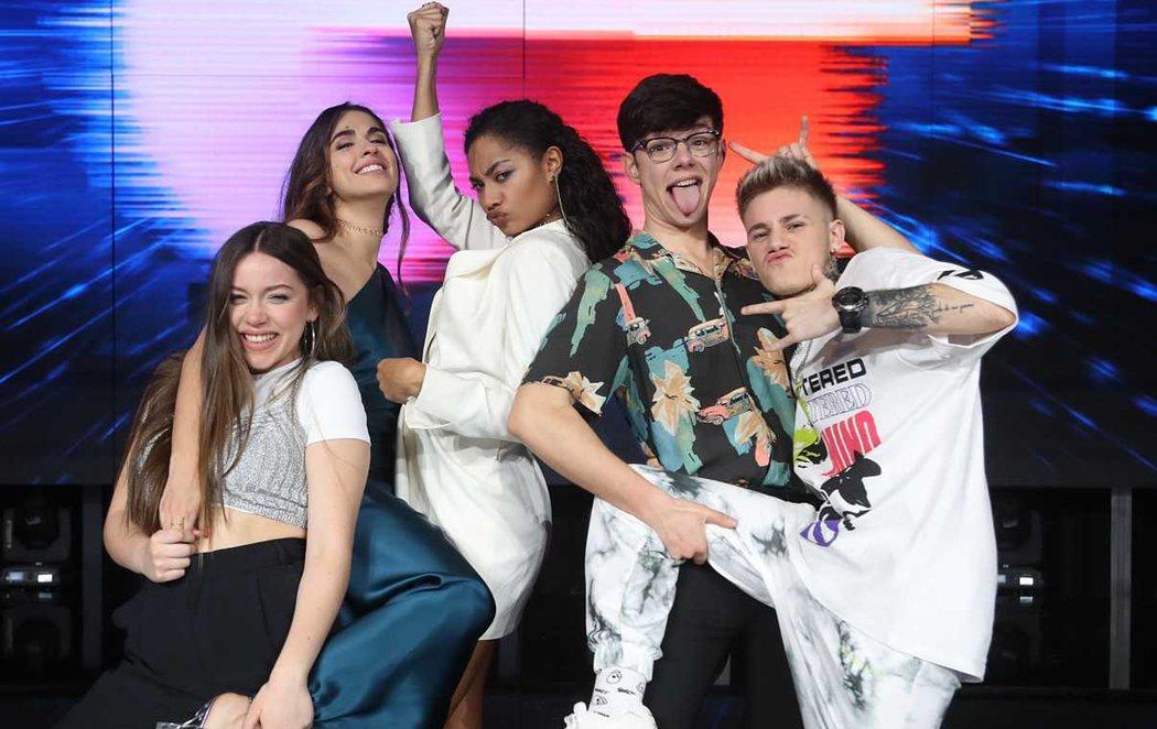 Anaju, Eva, Flavio, Hugo y Nia, los cinco finalistas de 'OT 2020'