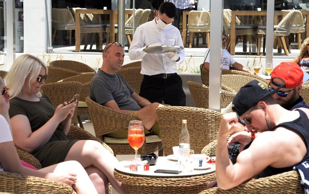 Los primeros turistas alemanes post-coronavirus llegan a Mallorca