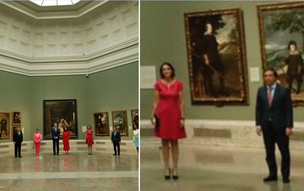"""Almeida se toma con humor el """"troleo"""" del Museo del Prado: """"Ya es mala suerte"""""""
