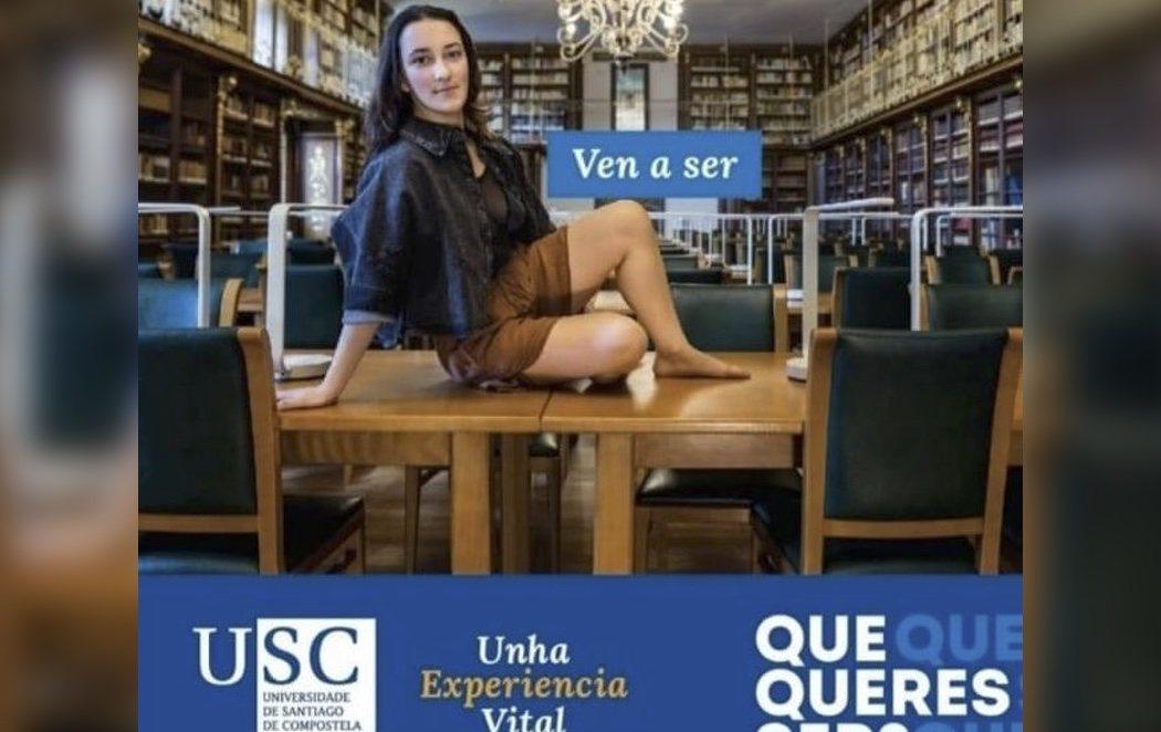 La Universidad De Santiago de Compostela retira un anuncio por acusaciones de sexismo