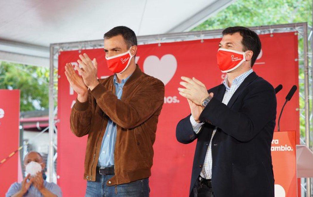 Pedro Sánchez se sumerge en la campaña electoral en Galicia y País Vasco