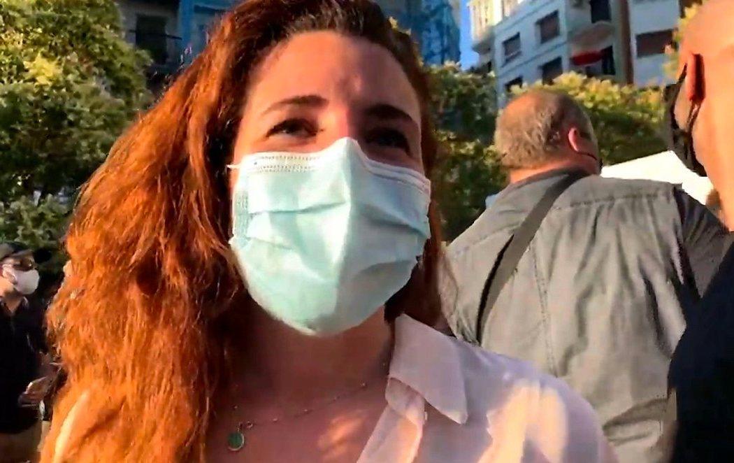 Rocío de Meer, la diputada de VOX a la que presuntamente lanzaron una piedra, reaparece sin un rasguño