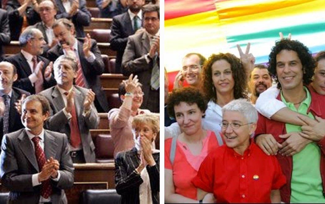 Se cumplen 15 años de la aprobación del matrimonio igualitario en España