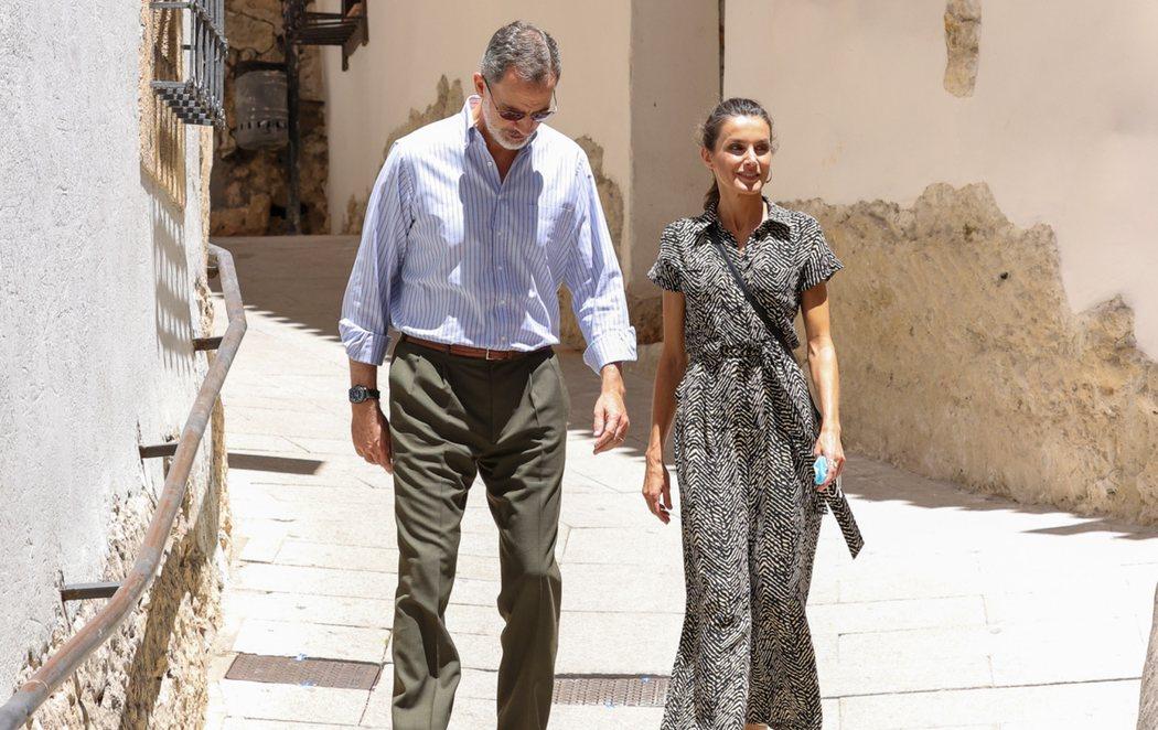 Los reyes Felipe VI y Letizia continúan con su tour y visitan Cuenca